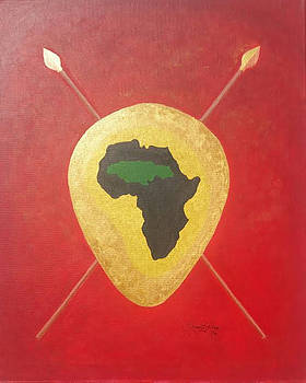 Afrika Jamaica Linked by Greg Roberson