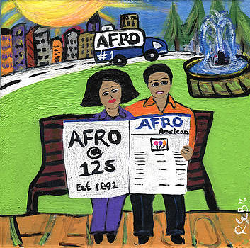 AFRO  125 - A Benjamin and a Quarter by The Robert Blount Collection