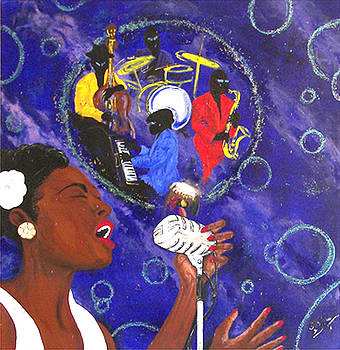 Afro Blue by Melvin Robinson