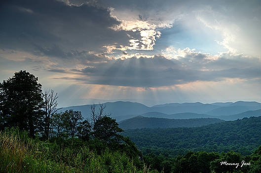 After a Summer Rain at Skyline Drive 1 by Manny Jose