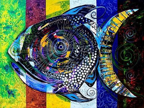 After Acidfish 99-1/2 by J Vincent Scarpace