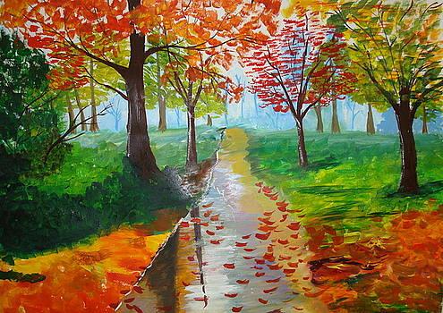After Rains by Saran A N