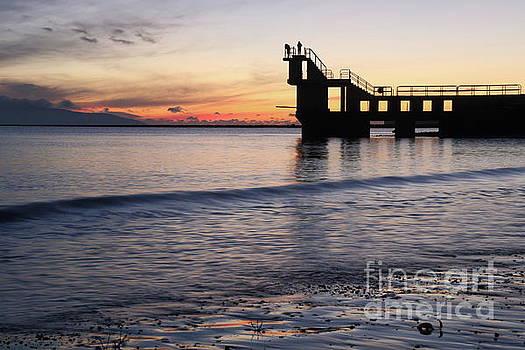 After sunset Blackrock 2 by Peter Skelton