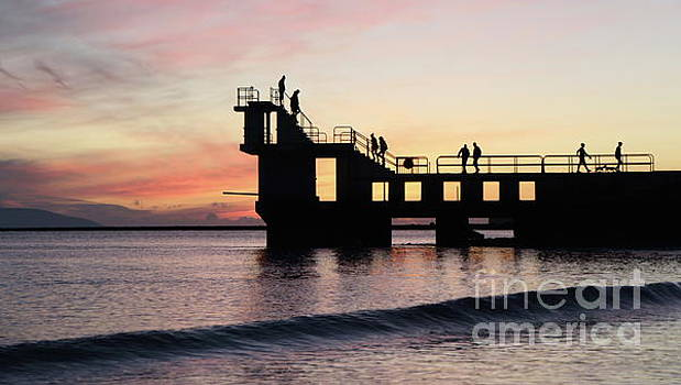 After sunset Blackrock 4 by Peter Skelton