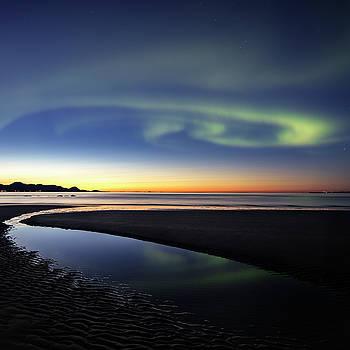 After sunset V by Frank Olsen