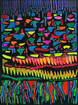 After Teotitlan by Sandra Salo Deutchman