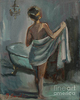 After The Bath by Jennifer Beaudet