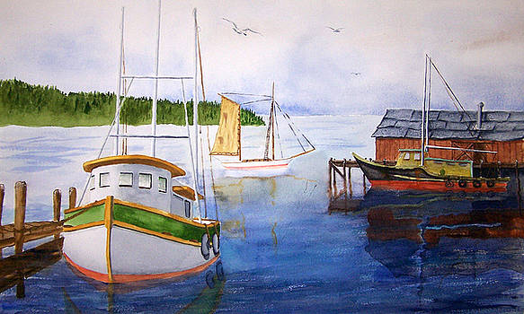 After the fishing is done by Robert Thomaston