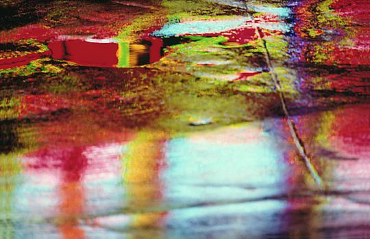 After The Rain Abstract 2 by Tony Cordoza