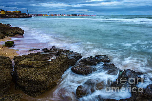 After the Storm from the Walkway Cadiz Spain by Pablo Avanzini