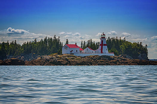 Afternoon at East Quoddy Head Lighthouse by Rick Berk