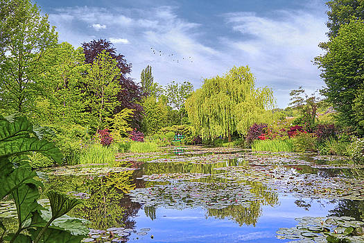 Afternoon at Giverny by John Rivera