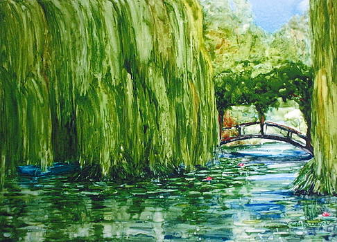Afternoon at Giverny by Suzanne Krueger