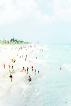 Afternoon at the Beach by Patricia Turo