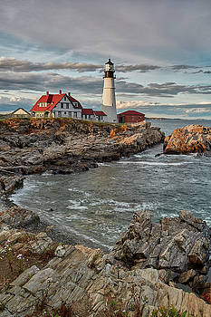 Jon Glaser - Afternoon Light at Cape Neddick