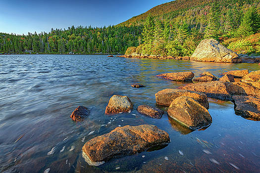 Afternoon on Tumbledown Mountain by Rick Berk