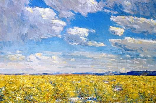 Afternoon Sky Harney Desert by Hassam Childe