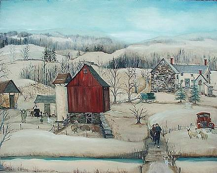 Afternoon Sleigh Ride by Cheryl Korb