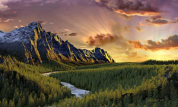 Against the Twilight Sky by Dieter Carlton