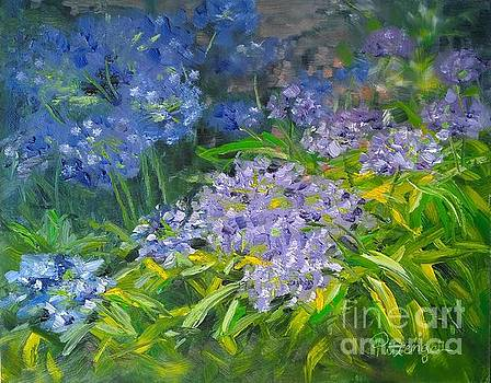 Agapanthus Song by Lori Pittenger