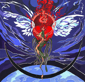 Agape Dragon by Ivona Batuta