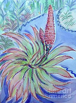Agave Bloom by Virginia Vovchuk