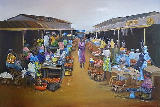 Agboju market mile 2 by Olaoluwa Smith