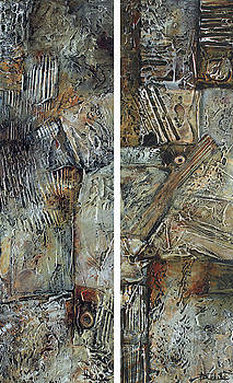 Age and Maturity Diptych by Nancy Eckels