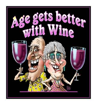 Age Gets Better Couple by Scott Ross