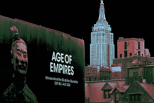 Age Of Empires - New York by Art America Gallery Peter Potter
