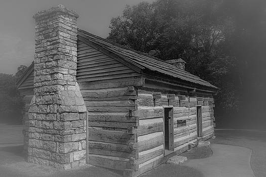 Aged Cabin at The Hermitage by James L Bartlett