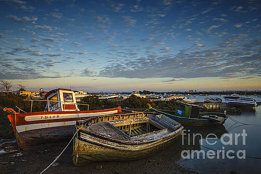 Aging Boats on Trocadero Pipe Puerto Real Cadiz Spain by Pablo Avanzini