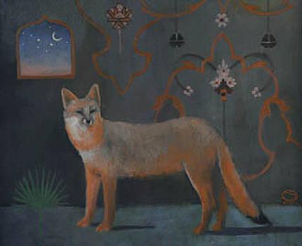 Agra Fox by Maury Hurt