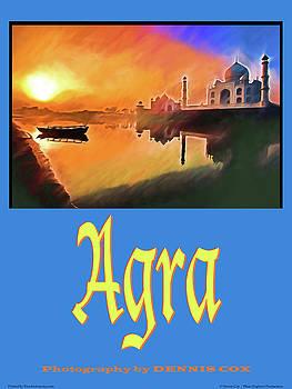 Dennis Cox Photo Explorer - Agra Travel Poster