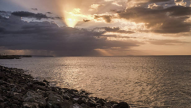 Aguadilla at Sunset by Giovanni Arroyo