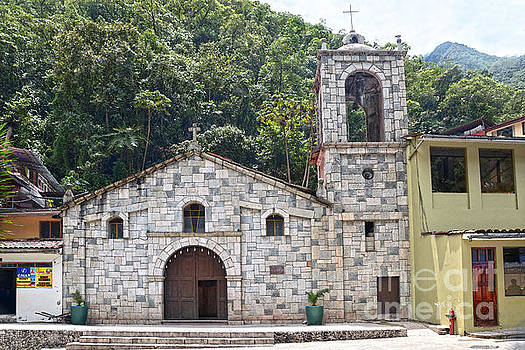 Aguas Calientes, Peru, Church by Catherine Sherman