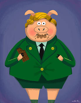 Agustus Pig by Brian White