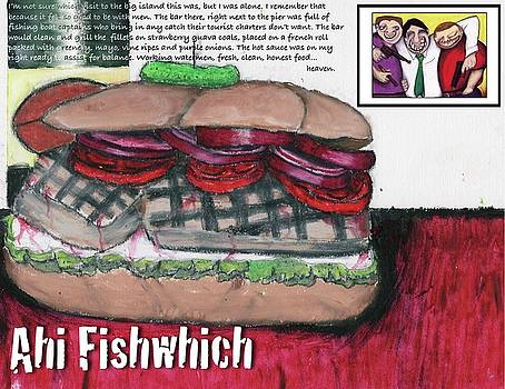 Ahi Fishwich by Billy Knows