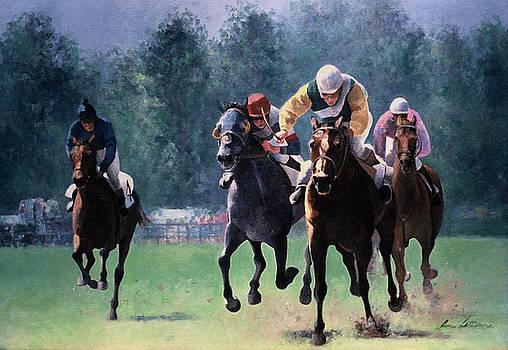 Aiken Steeplechase Third Race by Anne Lattimore