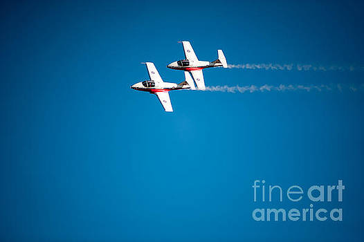 Air demonstrations. by Wayne Wilton