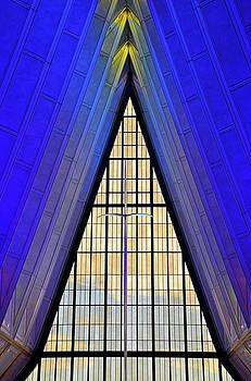 Robert Meyers-Lussier - Air Force Chapel Interior Study 1