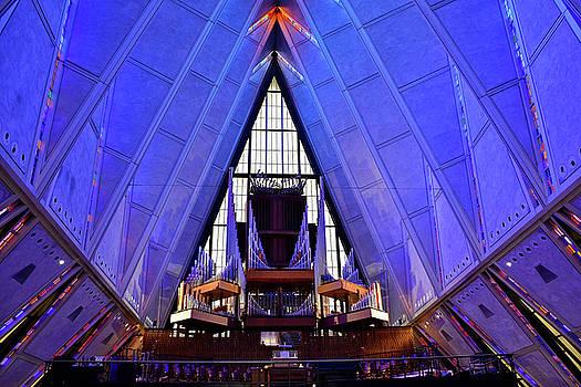 Robert Meyers-Lussier - Air Force Chapel Interior Study 4