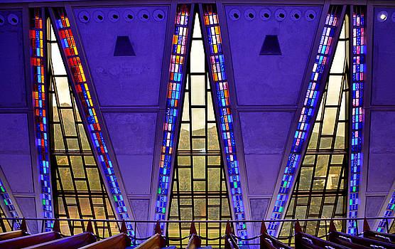 Robert Meyers-Lussier - Air Force Chapel Interior Study 7