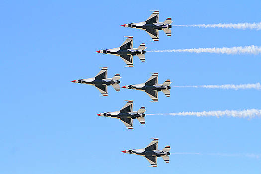 Air Force Delta Formation by Shoal Hollingsworth