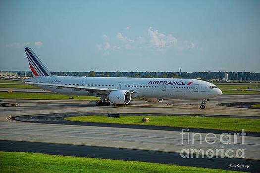 Reid Callaway - Air France Boeing 777-328ER F-GZNH Departing Hartsfield-Jackson Atlanta International Airport Art