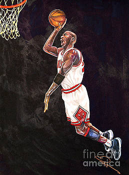 Air Jordan by Dave Olsen
