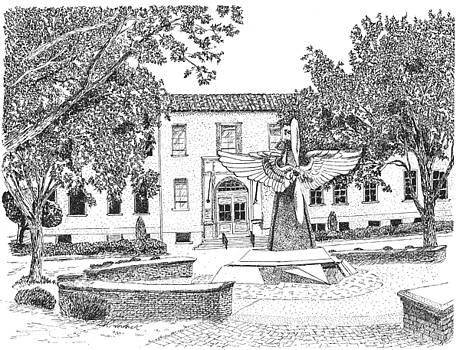 Air University Headquarters by Barney Hedrick