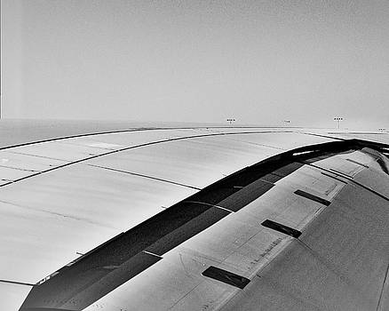Airbus A380 wing - Abstract  by Steven Ralser
