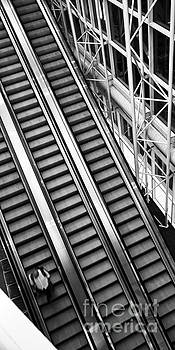 Airport Architecture Escalator Movement by ELITE IMAGE photography By Chad McDermott