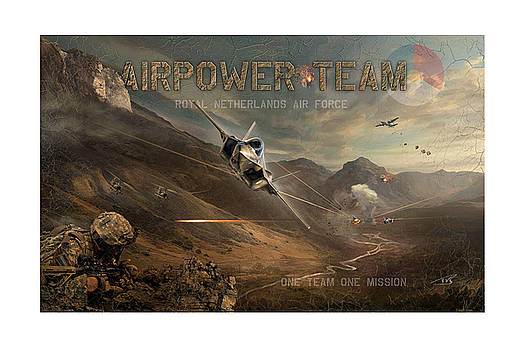Airpower Team by Peter Van Stigt
